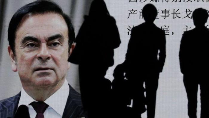 Bagaimana bapak dan anak membantu bos Nissan, Carlos Ghosn melarikan dari Jepang dalam koper