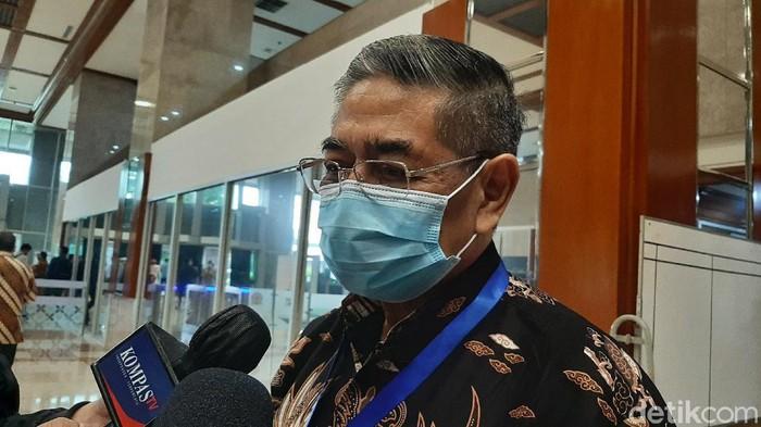 Direktur Lembaga Biologi Molekuler Eijkman Amin Subandrio (Lisye Rahayu/detikcom)