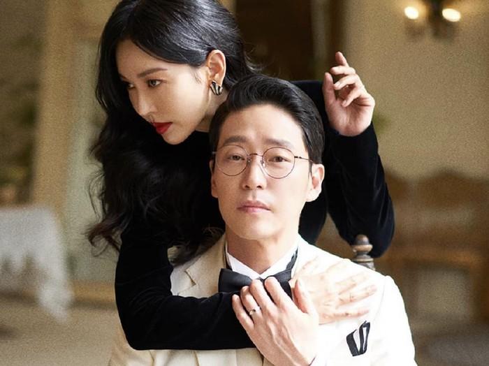 Kim So Yeon dan Uhm Ki Joon, pemain The Penthouse 3. Foto: dok. Instagram studiowonkyu