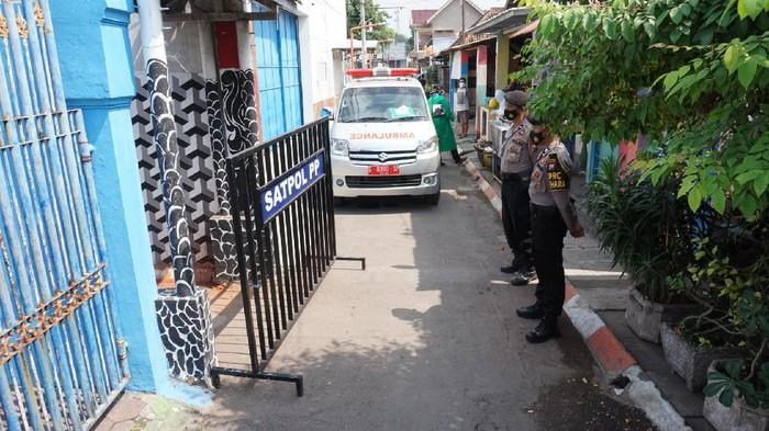 Gang di Kota Mojokerto yang Di-lockdown Jadi Klaster Sidomulyo, 47 Warga Positif COVID-19