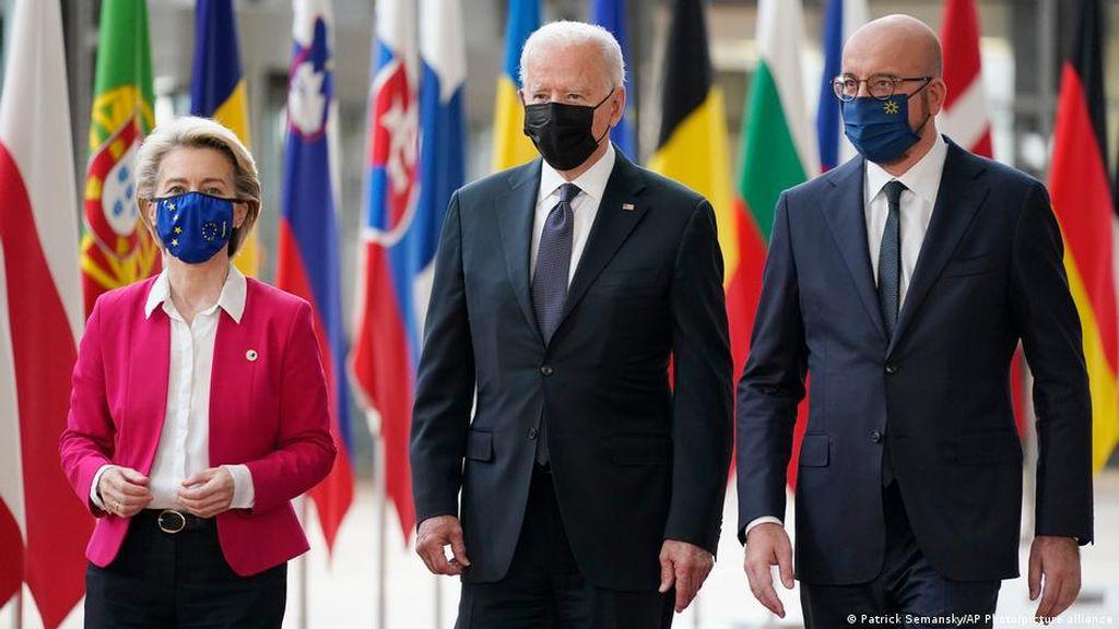 Hadapi Rusia-China, Joe Biden Galang Dukungan Uni Eropa