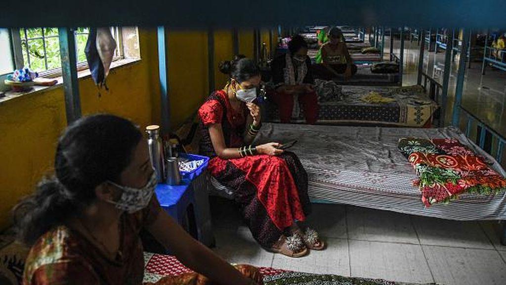 Kasus COVID-19 di India Turun 90 Persen!