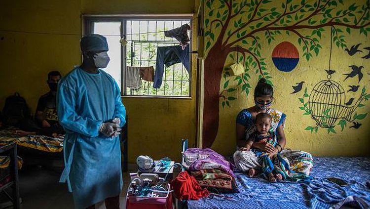 India Ubah Sekolah Jadi Rumah Sakit COVID-19