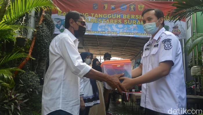 Kampung Tangguh Bersih Narkoba di Bubutan