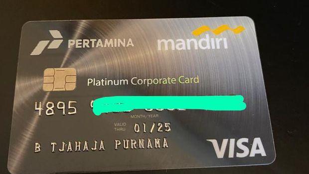 Kartu Kredit. (Dok: Basuki T Purnama)