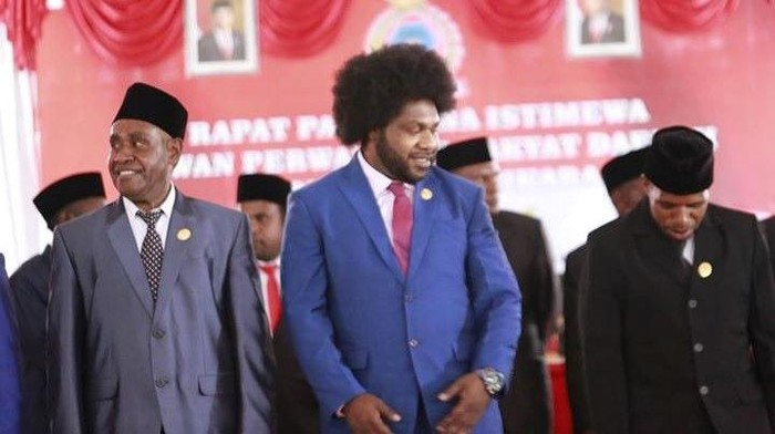 Ketua DPRD Kabupaten Tolikara, Sonny Arson Wanimbo (Situs resmi Partai NasDem)