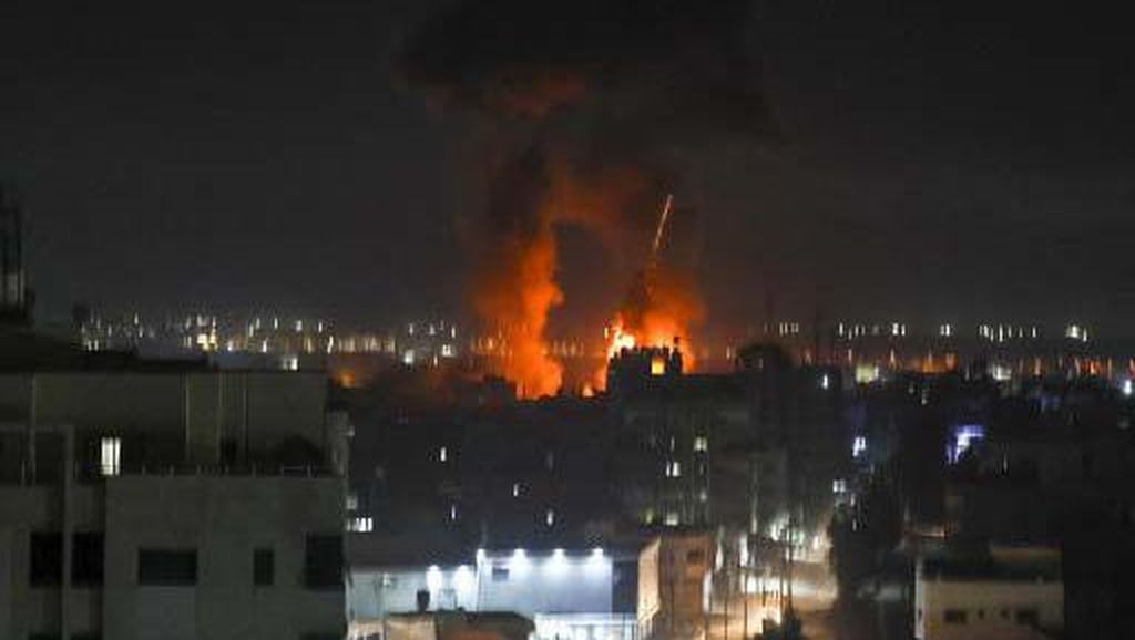 Israel Gempur Lagi Gaza, Balas Serangan Balon Api!