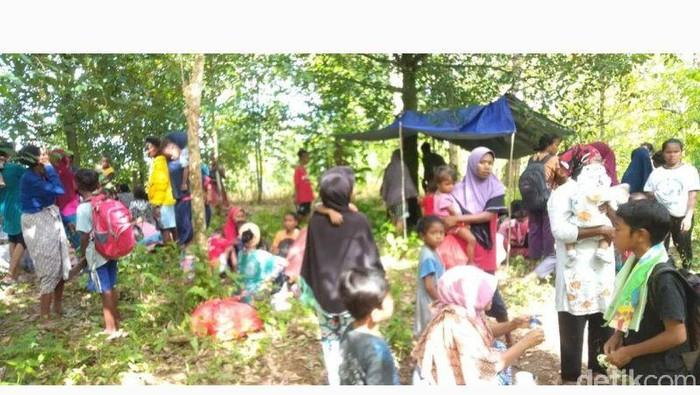 Kondisi di Tehoru usai Gempa Maluku Tengah (Dok. Antara)