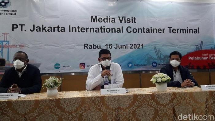 Konferensi pers JICT (Ilman/detikcom)