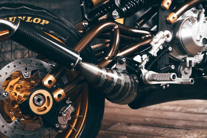 Langen Two Stroke Motorcycle