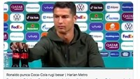 Benarkah Saham Coca-Cola Jeblok Gara-gara Digeser Cristiano Ronaldo?