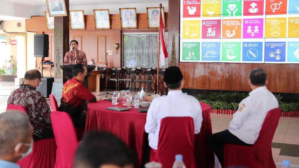Wonogiri Jadi Kabupaten Pertama Selesaikan Pemutakhiran Data SDGS Desa