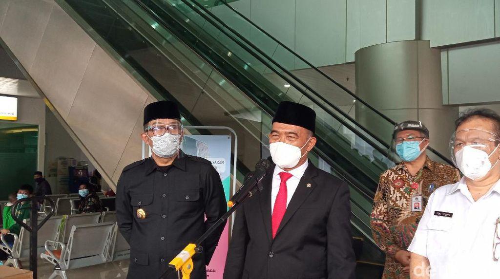 Kunjungi RSKIA Bandung, Menko PMK Cek Penanganan Ibu Hamil Kena Corona