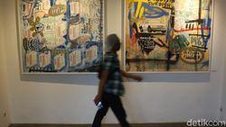 Tumpang Tindih, Pameran Lukisan Donni Afrianto Hadir Kembali
