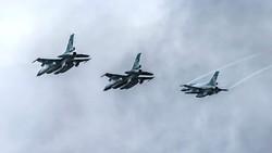 2 Hari Armada Tempur TNI AU Hilir Mudik di Langit Belitung, Ada Apa?