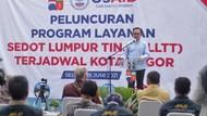 Pemkot Bogor Jalankan Program Layanan Lumpur Tinja Terjadwal