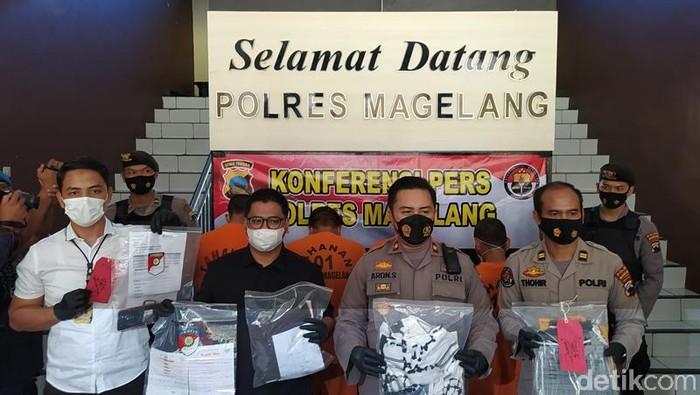 Perampok emak-emak bermodus tanya alamat di Magelang ditangkap, Rabu (16/6/2021).