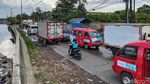 Proyek Galian Pipa Air Minum Bikin Macet Jl Benda Raya