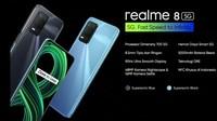 Harga Realme 8 5G, HP 5G yang Disebut Paling Terjangkau