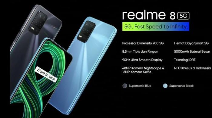 Harga Realme 8 5G.
