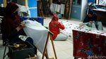 Saat Emak-emak di Tangerang Berkarya Lewat Batik Tulis