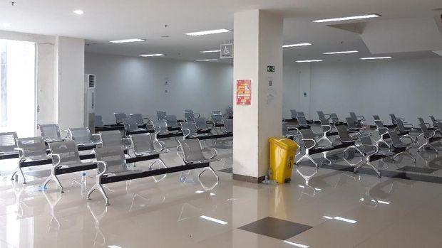 Suasana Wisma Atlet Kemayoran.