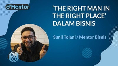 The Right Man In The Right Place Dalam Bisnis