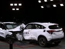 Honda HR-V Vs Mobil China Diadu Banteng, Mana yang Paling Aman?