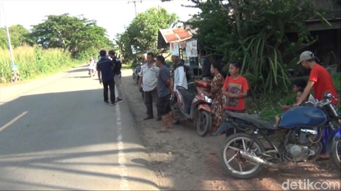 Warga Kecamatan Bengalon, Kutai Timur, Kaltim geger suami bunu istri dan anaknya yang masih balita (Suriyatman/detikcom).