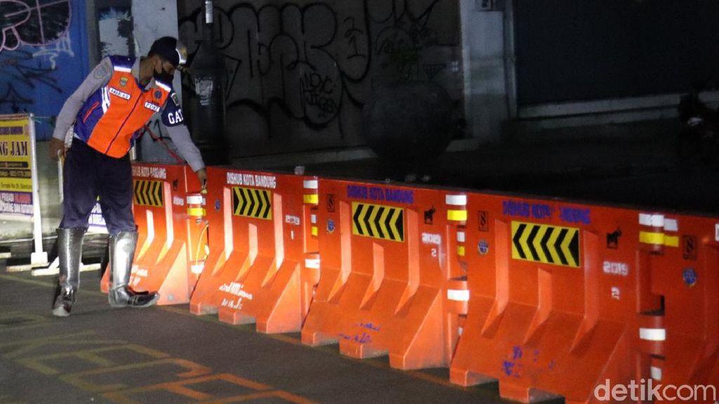 31 Ruas Jalan di Kota Bandung Kembali Ditutup