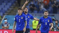 Koneksi Duo Sassuolo Bantu Italia Tumbangkan Swiss