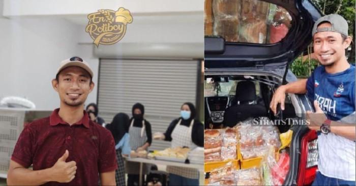 Kena PHK, Pria Ini Sukses Jual 1.000 Roti Sehari dan Buka Bakery