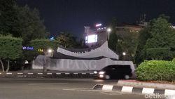 Kasus Corona Meningkat, Lapangan Simpang Lima Semarang Ditutup