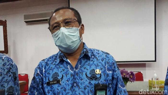 Kepala Dinas Kesehatan Kabupaten Bantul, Agus Budi Raharja, Kamis (17/6/2021).
