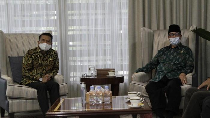Kepala Staf Kepresidenan Dr. Moeldoko bertemu Forum Komunikasi Umat Beragama (FKUB) Sulawesi Tengah