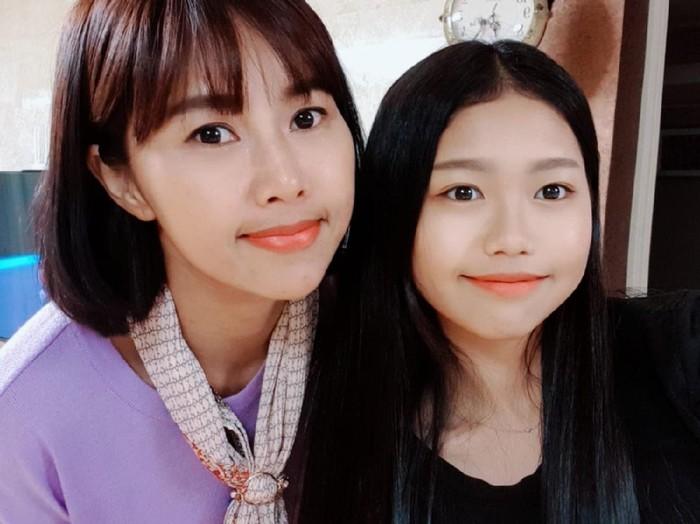Yannie Kim bersama putrinya, Ko Soobin. Foto: dok. Pribadi Yannie Kim