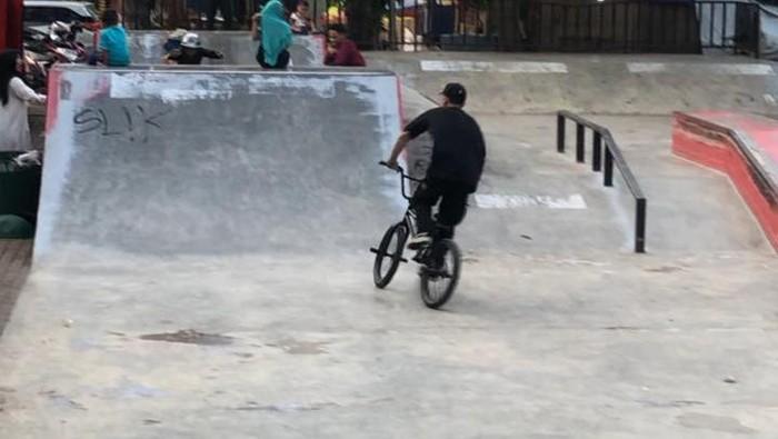 Lapangan skatepark, Serang, Banten.
