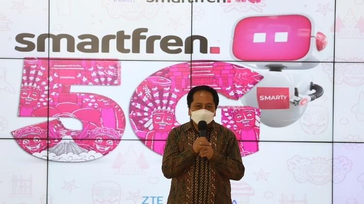 Smartfren kembali melakukan uji coba 5G dengan Kementerian Komunikasi dan Informatika (Kominfo) menggunakan pita frekuensi 26 GHz.