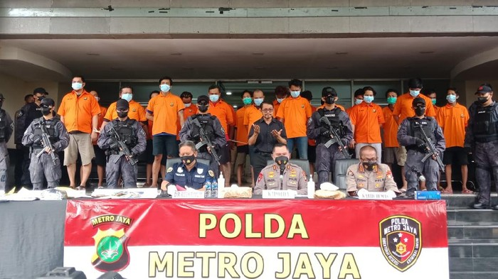 Polda Metro bongkar 4 kelompok pungli di kawasan Pelabuhan Tanjung Priok