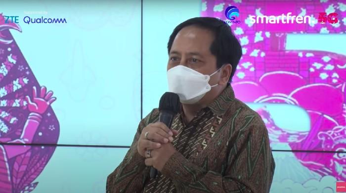 Presiden Direktur Smartfren Merza Fachys.