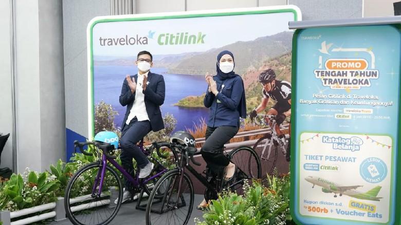 Pulihkan Pariwisata Domestik, Traveloka dan Citilink Beri Promo Tengah Tahun