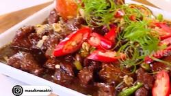Masak Masak : Sate Kambing Goreng Cabe Rawit yang Pedas Nendang