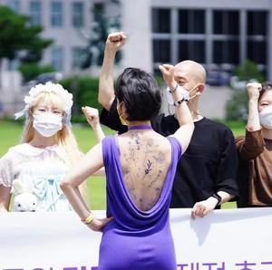 Gaya Anggota DPR Termuda Korsel Disorot, Promosi RUU Pakai Dress Terbuka
