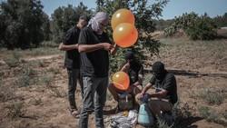 Balas Serangan Balon Api, Israel Kembali Gempur Gaza