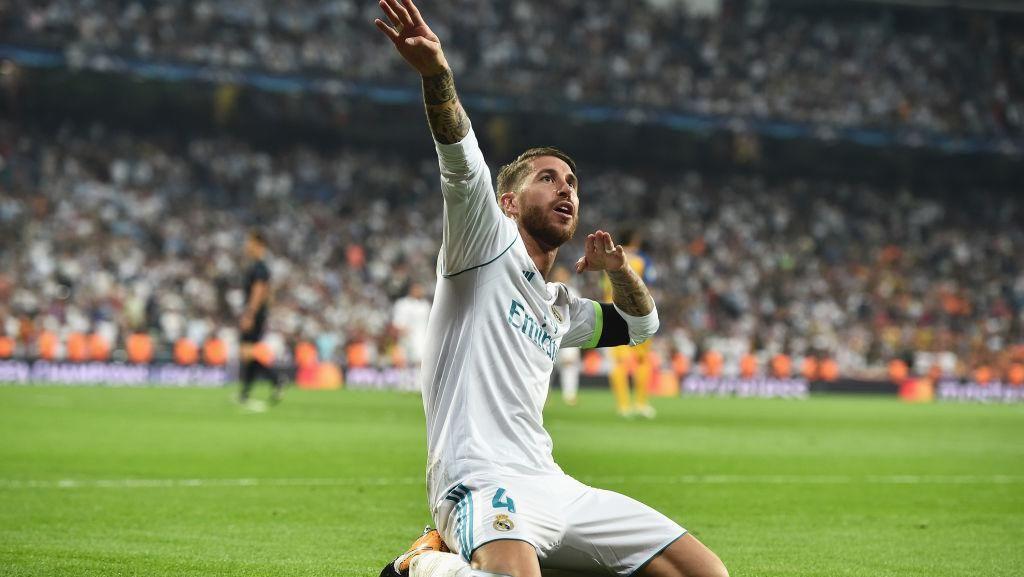 Karier Sergio Ramos di Real Madrid dalam Angka