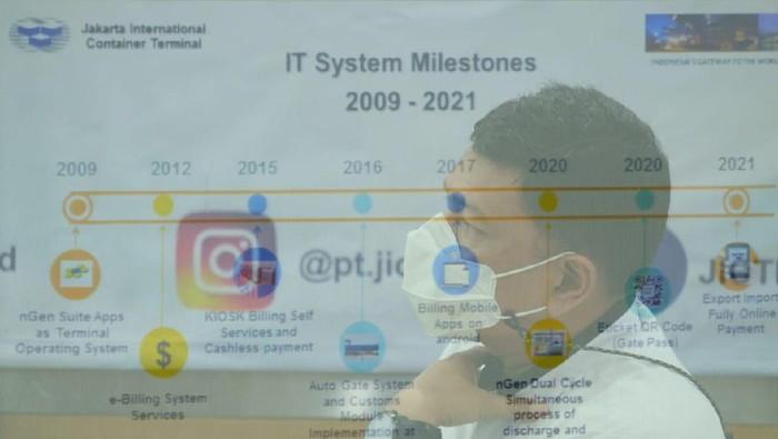 Manajemen melakukan evaluasi dan menegur keras vendor outsourcing Multi Tally Indonesia (MTI) yang mempekerjakan oknum koordinator pungutan liar (pungli) di JICT.