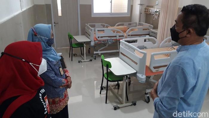 Ada foto :  Dinas Kesehatan Jateng dan Boyolali mengecek kelengakapan RSU Islam Boyolali sebagai rumah sakit darurat COVID-19, Jumat (18/6/2021).
