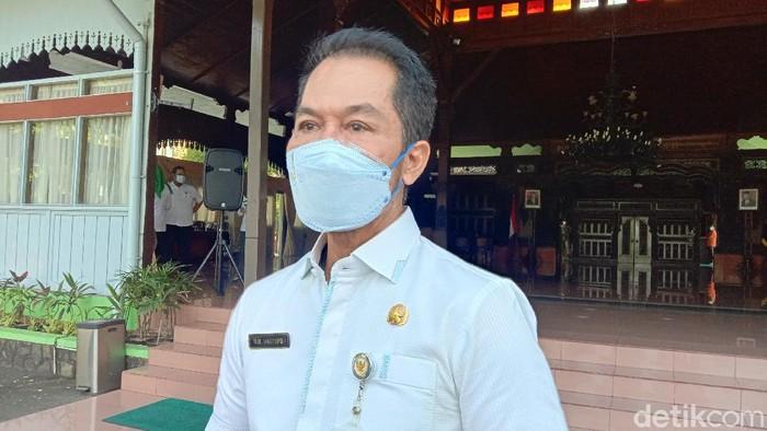 Bupati Kudus HM Hartopo, Jumat (18/6/2021).
