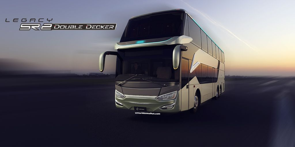 Bus tingkat Laksana Legacy SR2 Double Decker