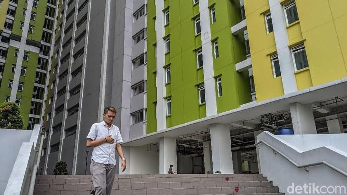 Rusun Pasar Rumput Manggarai disiapkan jadi lokasi isolasi pasien COVID-19 di Ibu Kota. Rusun itu nantinya akan jadi tempat isolasi pasien dengan kategori OTG.
